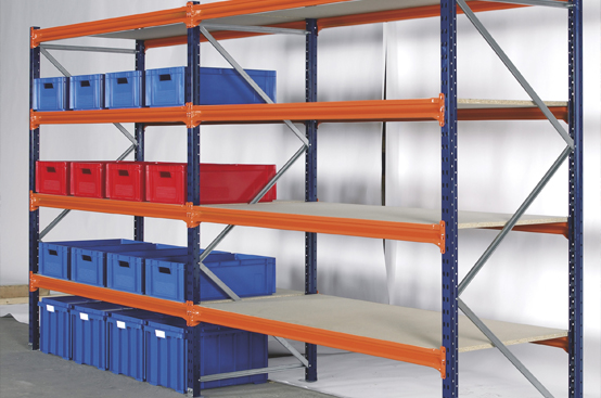 Slotted Angle Partition Rack