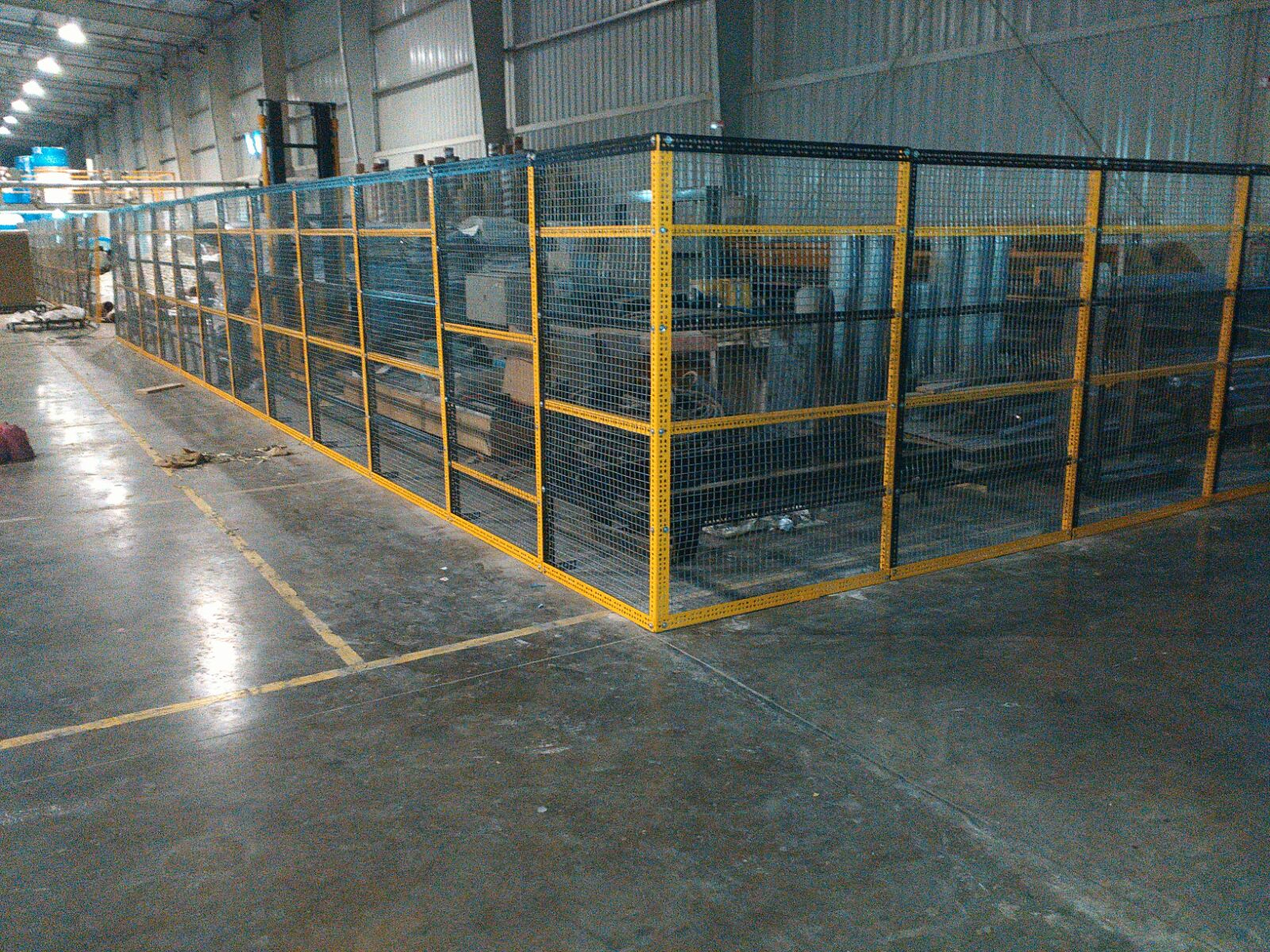 Slotted Angle 3 Side Covering Rack